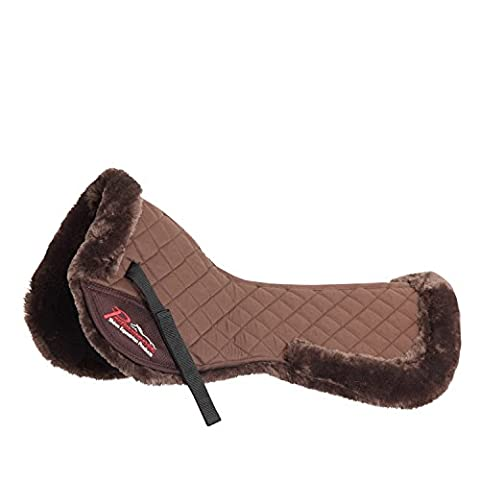 Shires Performance Full Size Saddle Pad: Brown