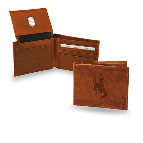 Cowboy-leder-geldbörsen (Rico NCAA Alabama Geldbörse, gepunktet, Leder, Wyoming Cowboys)