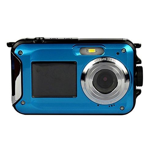 powerlead plc1209doppeltem Bildschirme Wasserdicht Digital Kamera mit 6,9cm LCD-Display