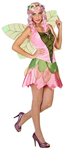 Rosa Kostüm Fee Womens - ATOSA 39343 Fee Kostüm, Damen, mehrfarbig, M-L