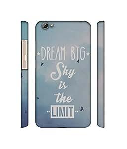 NattyCase Big Dreams Design 3D Printed Hard Back Case Cover for Vivo Y66