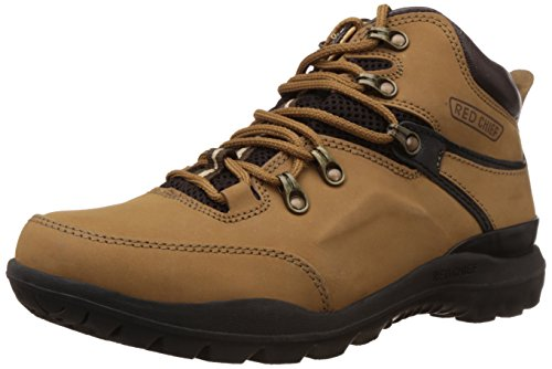 Redchief Men's Rust Leather Trekking and Hiking Footwear Shoes - 8 UK (RC5070)