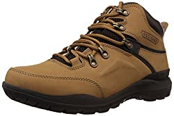 Redchief Mens Rust Leather Trekking and Hiking Footwear Shoes - 8 UK (RC5070)