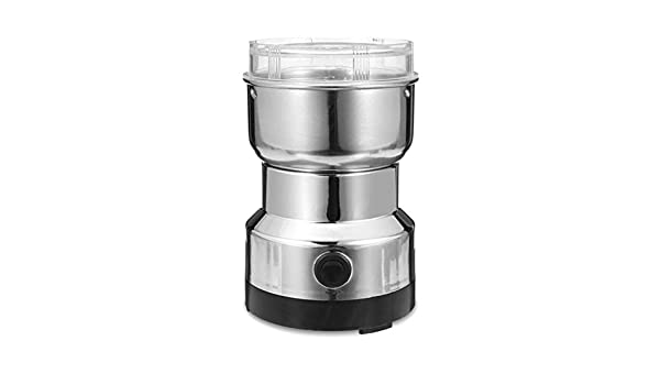 Icepeach Macinino elettrico per spezie e noci per caff/è e chicchi di caff/è in acciaio INOX Eu