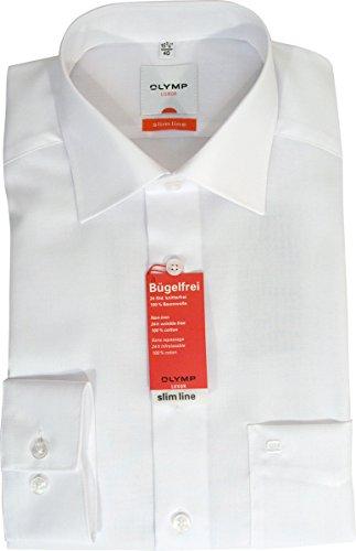 Modern Fit Hemd Langarm m New Kent Kragen 46  Weiß  gefunden bei ... 3f81c4d077