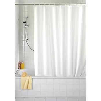 duschvorhang weiss 180x230 textil 180 breit 230 hoch. Black Bedroom Furniture Sets. Home Design Ideas