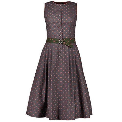 Kleid Hose Charcoal (Maloja schellenbergm Kleid, Damen S Grau (Charcoal))