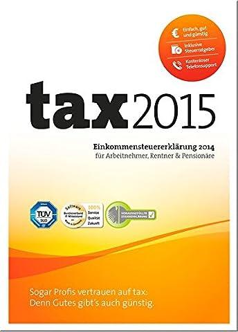 tax 2015 (für Steuerjahr 2014)