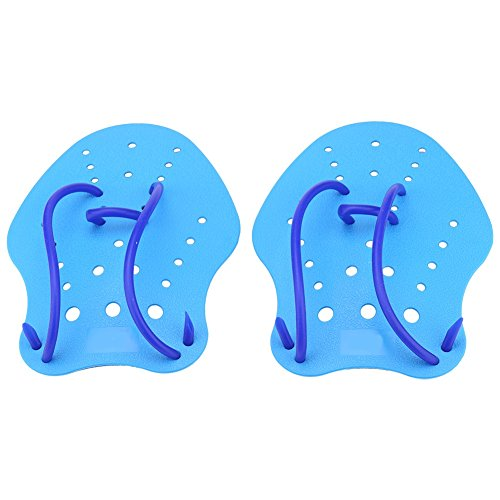 1 Paar Schwimmen Paddel Hand Paddel Handschuhe für Kinder und Erwachsene ( Abmessung : M ) -