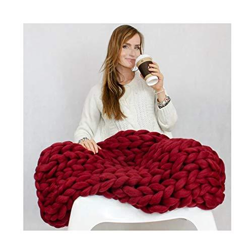 Dmmash coperta morbida handmade ultra-denso acrilico caldo uso domestico coperte per adulti bambini regali,color5,200 * 200