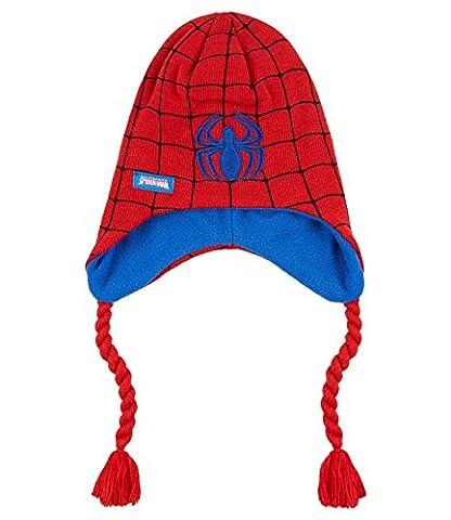Spiderman Jungen Mütze - rot - 52