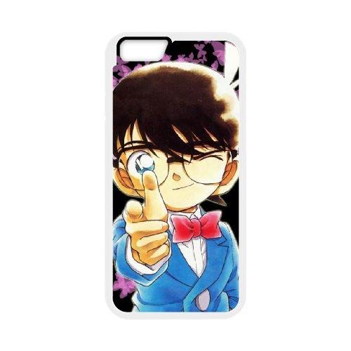 Detective Conan coque iPhone 6 Plus 5.5 Inch Housse Blanc téléphone portable couverture de cas coque EBDXJKNBO09957