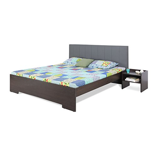 Forzza Troy King Size Bed (Grey)