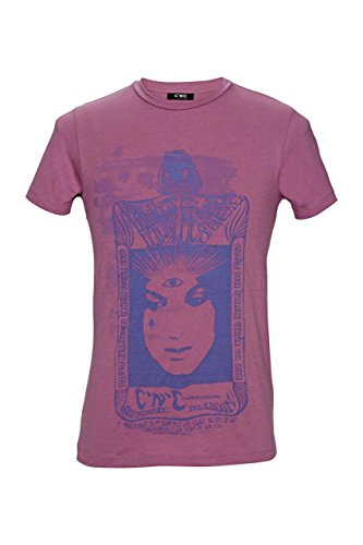 C'N'C Costume National T-Shirt Damen Altrosa Größe L (C'n'c Costume National)