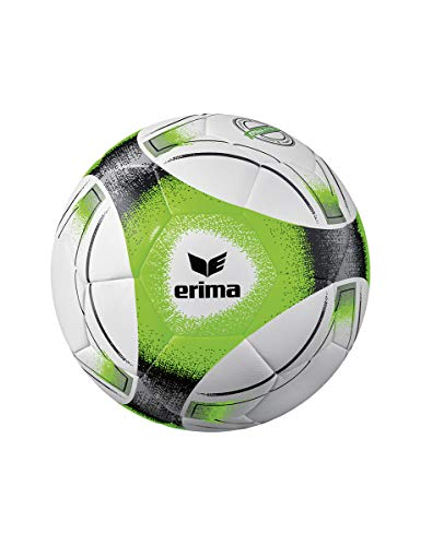 Erima Unisex- Erwachsene Hybrid Training Fußball, schwarz/grau/Green, 5