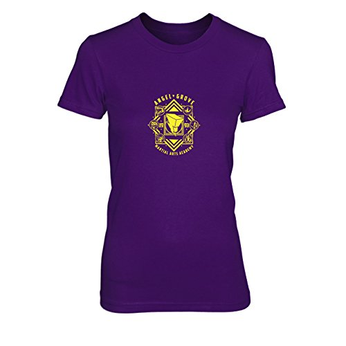 Angel Grove Academy - Damen T-Shirt, Größe: XL, Farbe: (Kostüm Zord)