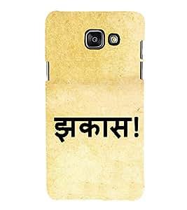 Jhakas 3D Hard Polycarbonate Designer Back Case Cover for Samsung Galaxy A7 (2016) :: Samsung Galaxy A7 2016 Duos :: Samsung Galaxy A7 2016 A710F A710M A710FD A7100 A710Y :: Samsung Galaxy A7 A710 2016 Edition