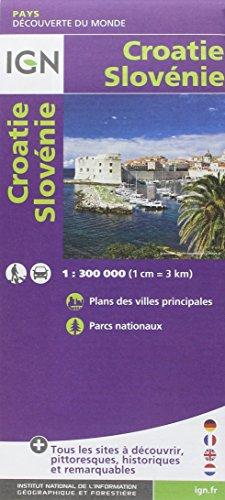86114 CROATIE/SLOVENIE  1/300.000