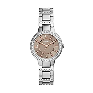 Fossil Analog Champagne Dial Women's Watch – ES4147