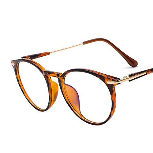Aoligei Brille Retro-Art können große Frame Männer und Frauen Flache Spiegel Gesicht Dekoration ist mit Myopie Spiegel abgestimmt.