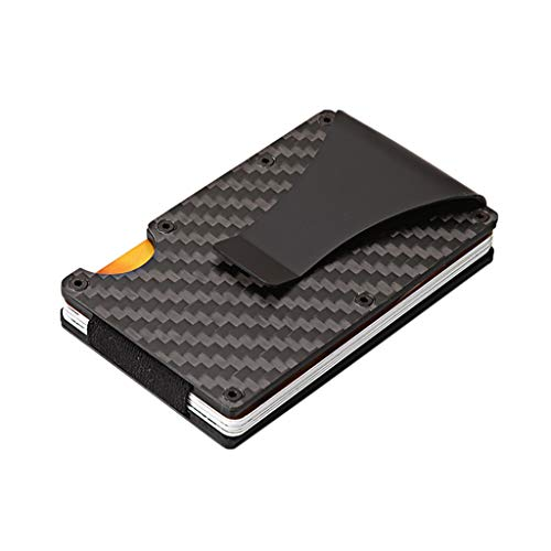 Tianya Monedero de la tarjeta de crédito,titular de la tarjeta del metal...