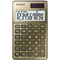 CASIO SL-1000TW-GD calcolatrice tascabile - Display a 10 cifre, struttura in metallo di colore oro - Confronta prezzi