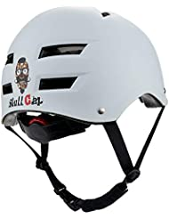 Skullcap® Casco BMX - Casco Skate - Casco Bici, Talla: L (58 – 61 cm), Design: