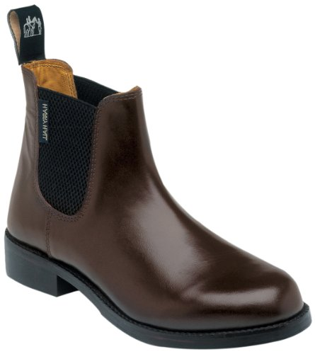 Harry Hall Damen-Jodhpurstiefel Buxton braun 5 UK (Braun Leder Buxton)