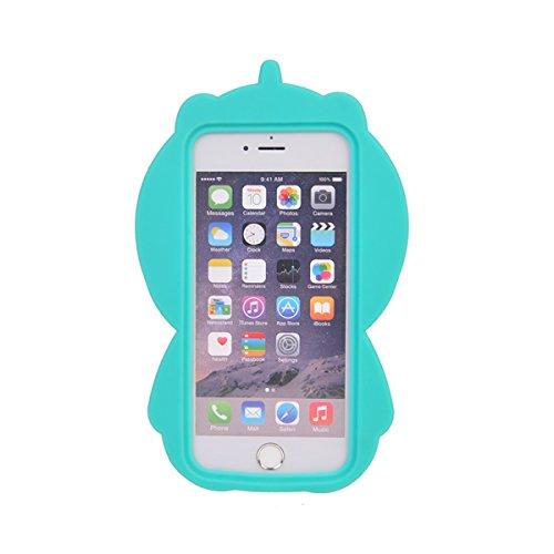iPhone 6 Plus Hülle,COOLKE 3D Fashion Klassische Karikatur weiche Silikon Shell Schutzhülle Hülle case cover für Apple iPhone 6 Plus/ iPhone 6s Plus (5.5 inches) - 010 006
