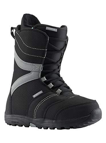 Burton Damen Coco Black Snowboard Boot, Schwarz, 40.5 EU(Herstellergröße: 6.5) 6.5 Snowboard-boots
