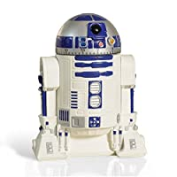 Star Wars R2d2 Timer Da Cucina - It's a kitchen timer that looks just like R2-D2 - Sixty minute timer in 1 minute intervals - Wind it up to 60 and then set the time you want - Alarm bell will sound for 5 seconds once time has elapsed - Offici...
