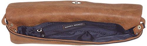 Gerry Weber Be Different 4080003238 Damen Clutches 28x14x1 cm (B x H x T) Braun (703)