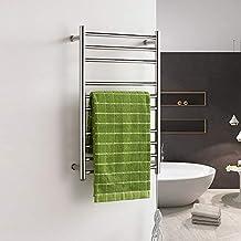 Four Toallero eléctrico de Acero Inoxidable Calentador de Toallas eléctrico Caliente radiador-plata-780