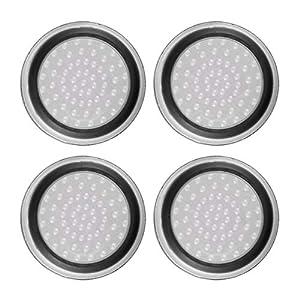 Pudincoco 4 stücke Silikon Anti-Slip Striped Gamepad Keycap Controller Daumengriffe Schutzhülle für PS3 / 4 für X Box…