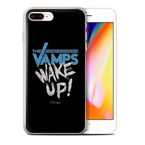 Offiziell The Vamps Hülle / Gel TPU Case für Apple iPhone 8 Plus / Schlagzeug Muster / The Vamps Graffiti Band Logo Kollektion Aufwachen!