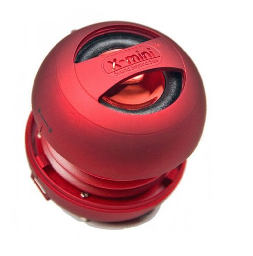 X-Mini X MINI Capsule Speaker Cyber RED Attive