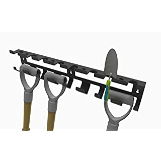 Tool-Tidy - Garden Shed Wall mounting bracket - For Garden Tools, Garden Spade, Fork, Tools