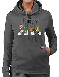 The Fruitles Abbey Road Frutties Beatles Women's Hooded Sweatshirt