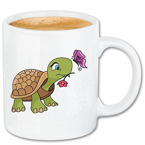 asse SÜSSE SCHILDKRÖTE MIT Blume UND Schmetterling SCHILDKRÖTEN LANDSCHILDRÖTE MEERESSCHILDKRÖTEN Ninja WASSERSCHILDKRÖTEN Turtles Turtle NESSAJA ()