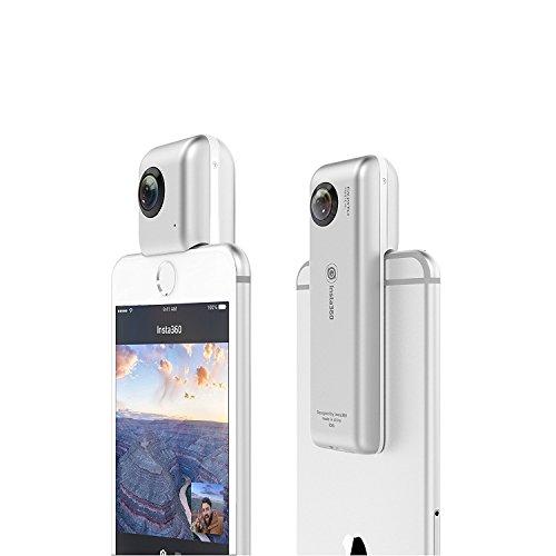 Insta360 Nano Compact Mini 360 Degree Panoramic Panorama Camera 3K HD Video 210 Degree Dual Wide Angle Fisheye Lens - 2