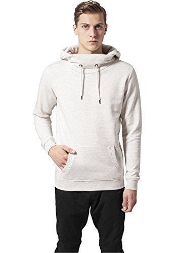 High Neck Hoody offwhite L