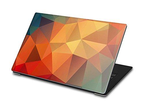 creatisto Laptop/Notebook-Aufkleber Dell XPS 13 (2015) / Design Sticker Polygon/Skin Folie