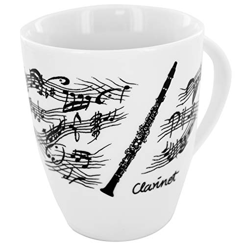 Tasse Klarinette, Geschenk für Klarinettisten