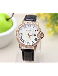 PU Leather Strap Women and Men Dress Wristwatch Vintage Quartz Analog Watch Bracelet Quartz Wrist Watch Jeans Casual Relojes