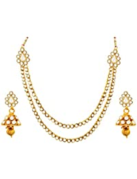 BFC-Buy For Change Pearl Designer Necklace Set For Woman And Girls