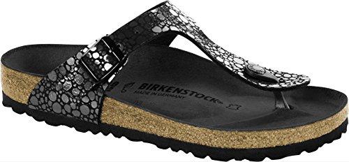 BIRKENSTOCK Gizeh BF Metallic Stones Black 42