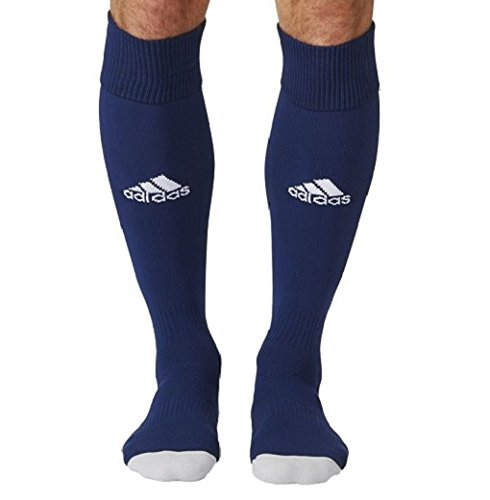 Adidas Men Milano 16 Socks  pair Of 1  - Dark Blue White  Size 34 - 36