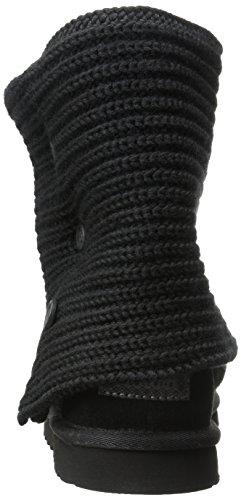 Ugg Australia Cardy 1876Charcoal/Silver10, Bottes femme Noir