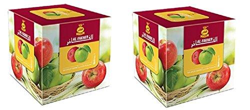 Al Fakher Shisha-Geschmack, 1 kg, Doppelapfel