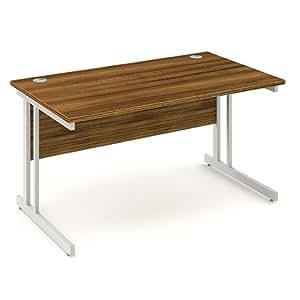 bureau l phant 1200 mm x 800 mm droite rectangulaire bureau en noyer fournitures de. Black Bedroom Furniture Sets. Home Design Ideas